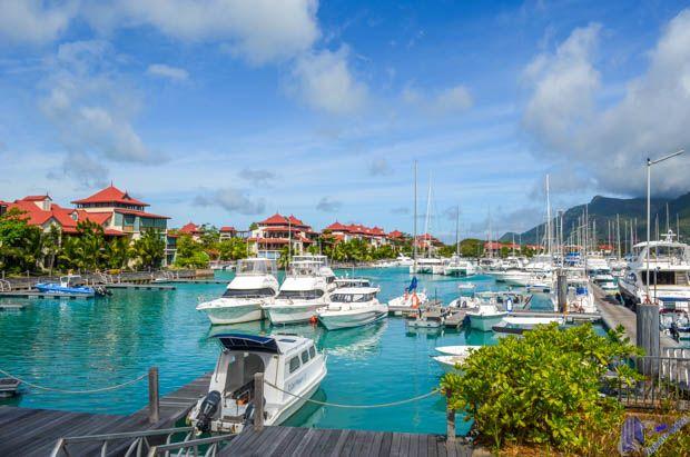 Marina na Eden Island em Mahe - Seychelles