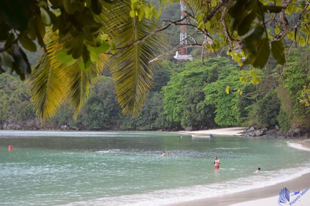 Praia em Mahe - Seychelles