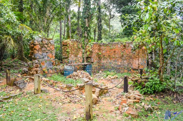 ruínas de Venn`s Town em Mahe - Seychelles