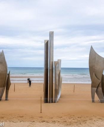 Praia de Omaha, Normandia, França: o que visitar.