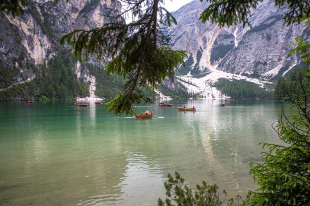 Lago di Braies Dolomitas