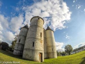 Vernon cidade perto de Giverny na região da Normandia na França
