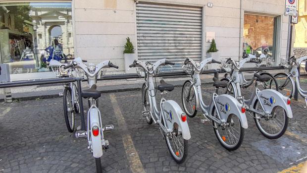 Como se locomover em Verona-Bike