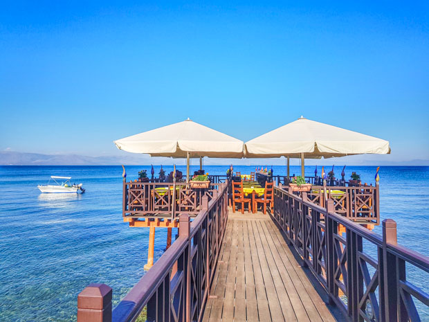 Kaiser Bridge Restaurante em Corfu