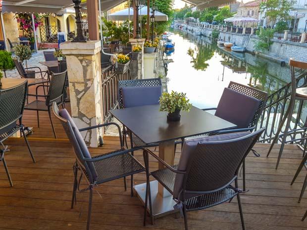Riverside Restaurante em Corfu na Grécia