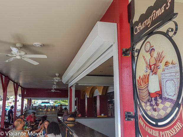 Onde comer em Saint Martin: Serafina's
