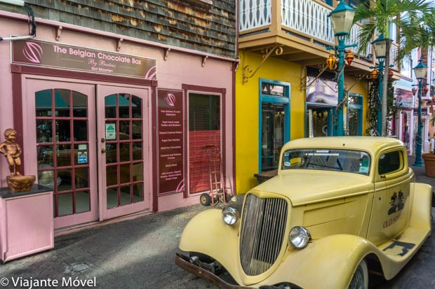 Onde comprar em St Maarten: The Belgian Chocolate Box