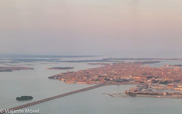 Vista Panorâmica de Veneza na Itália