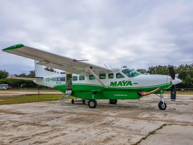 Como chegar em Placencia, Belize