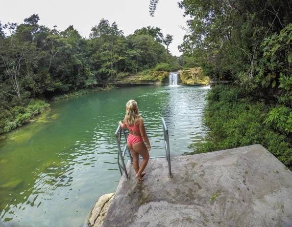 Cachoeira em Belize