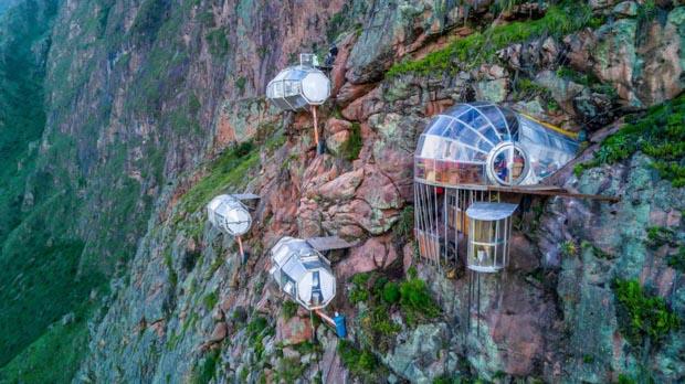 Skylodge - Onde se hospedar no Peru