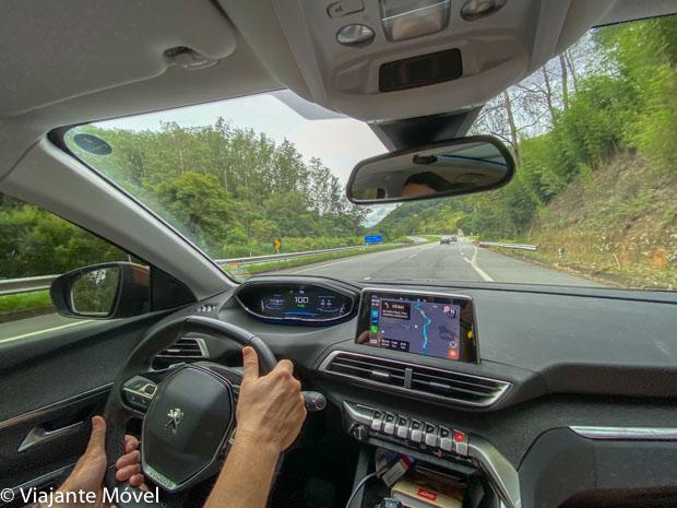 Carro Peugeot-Viagem de carro de Brasília ao Rio de Janeiro