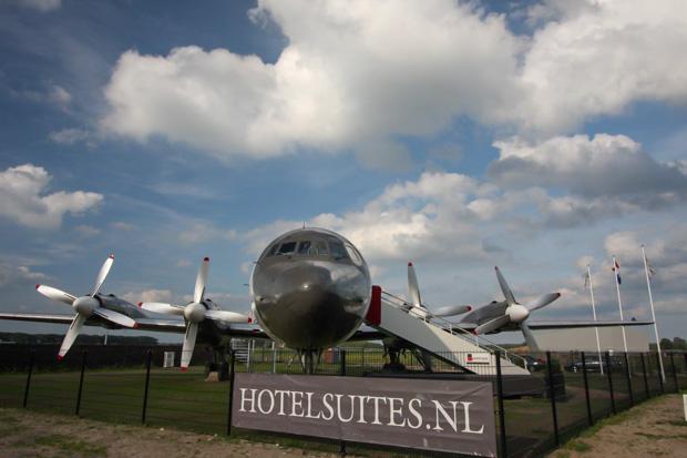 Vliegtuige Suite - Onde se hospedar na Holanda