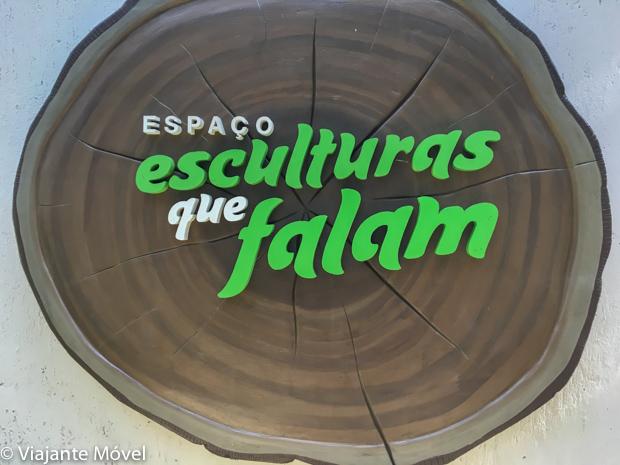 O que fazer em Canela, na Serra Gaúcha: Esculturas que falam