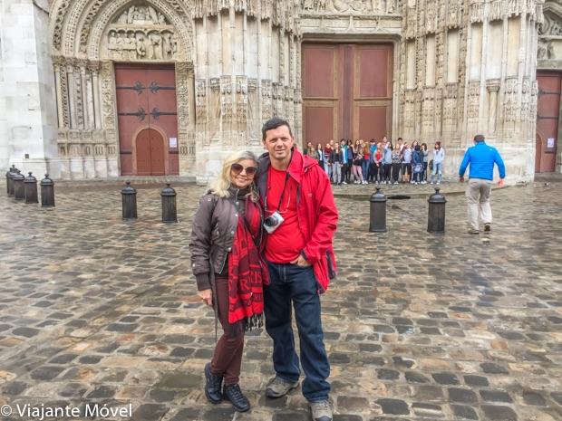 Roteiro em Rouen na Normandia França