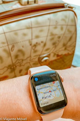 Como utilizar o Apple Watch na viagem