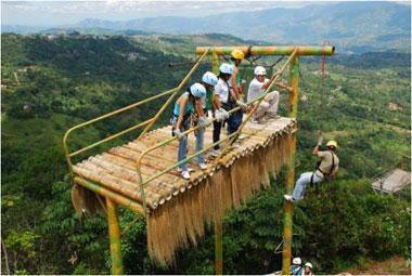 Ecoparque Macadamia Extrem  Sitios Turisticos en