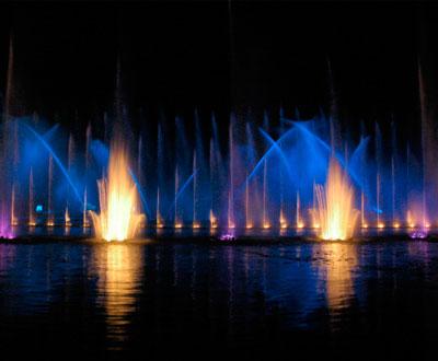 Juegos de Luces en Bogota