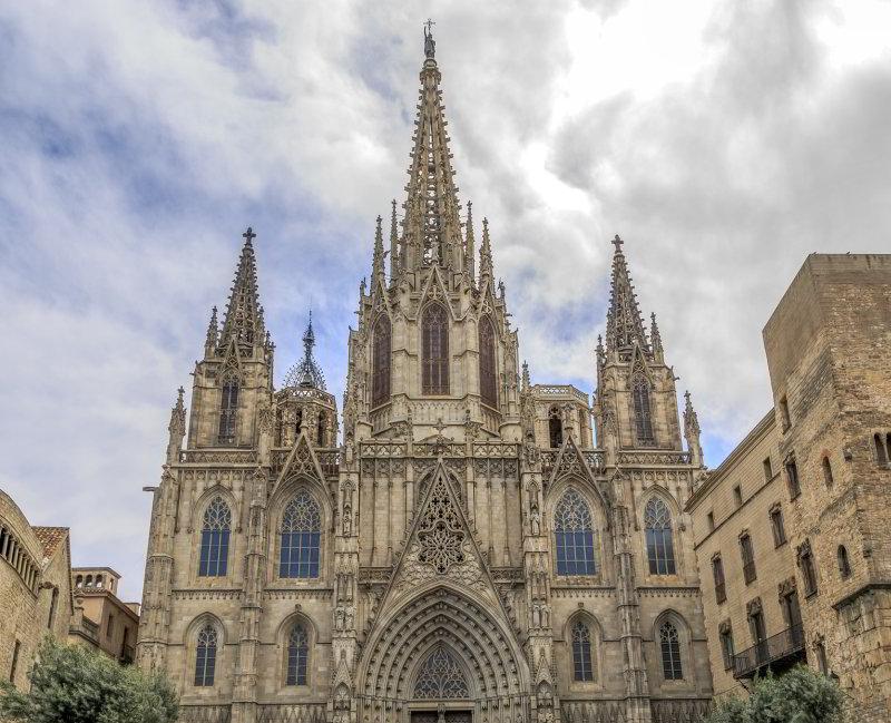 Viajar a Barcelona  La Catedral de Barcelona