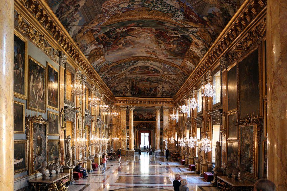 Galleria di Palazzo Colonna foto de Salkio Wikimedia Commons