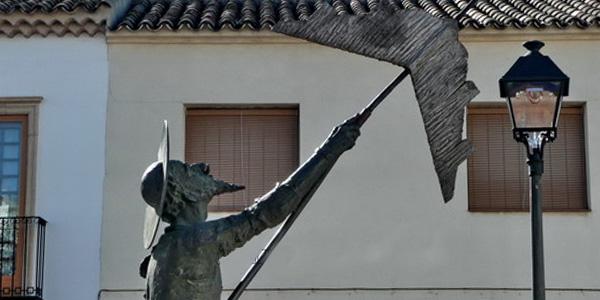 Don Quijote cosmico Alcazar de San Juan
