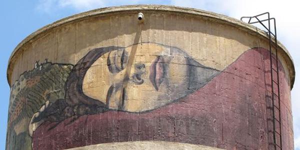 murales de dulcinea en el toboso