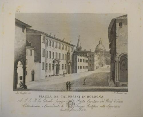 piazza de calderini bologna