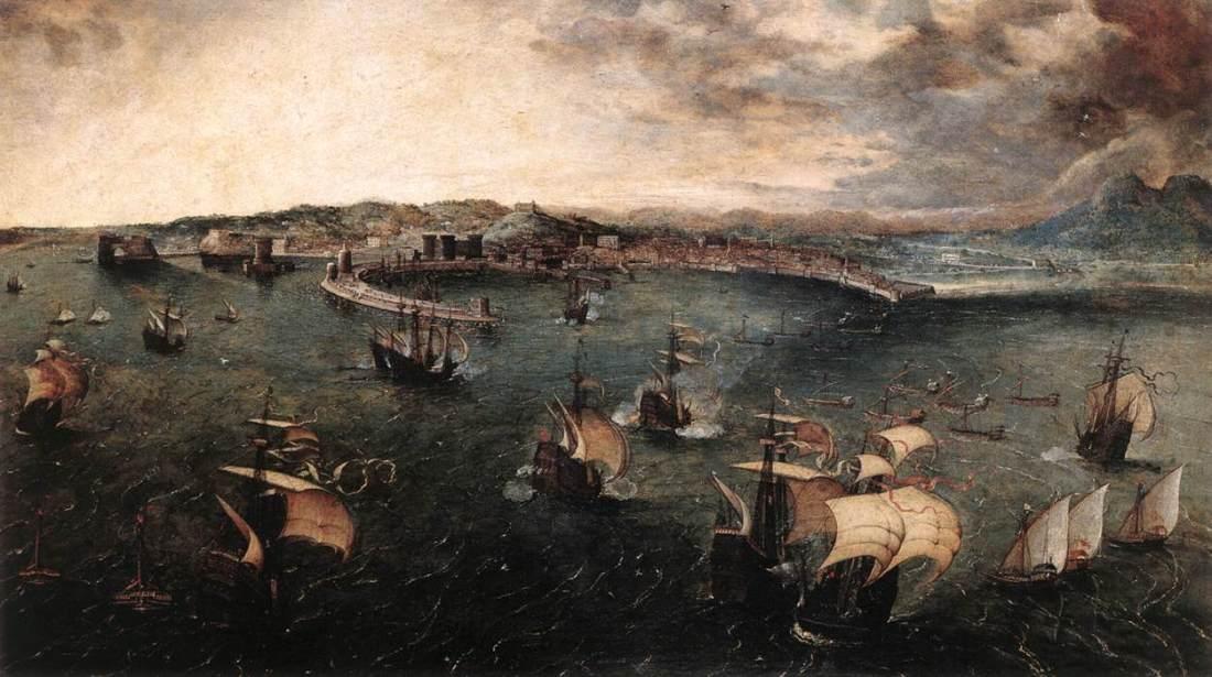 Golfo di Napoli di Peter Bruegel il Vecchio Wikimedia Commons