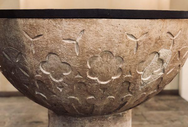 Pila de bautismo de Cervantes Alcalá de Henares
