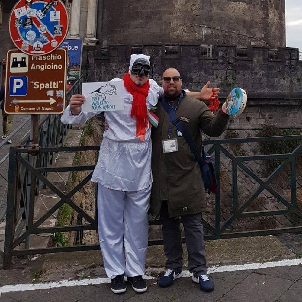 Raffaele Free Walking Tour Napoli - Viajar con Cervantes