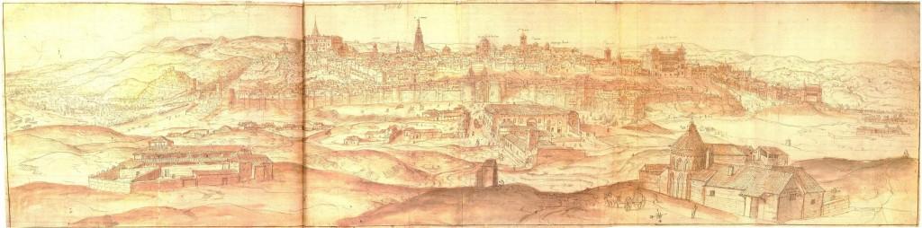 Toledo vista van der wynegarde 1563