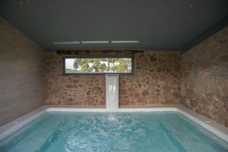 Casas con piscina climatizada para ir con nios  httpviajarconhijoses