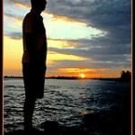 sunset @t boca chica