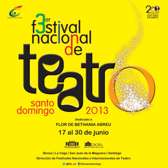 festival nacional de teatro santo domingo