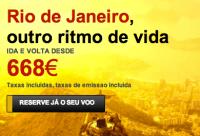Cidades do Brasil em promoção na Iberia