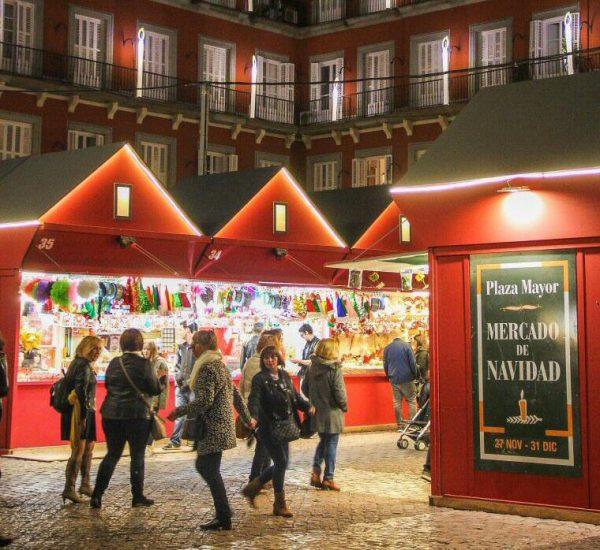 Guía de mercadillos navideños en Madrid