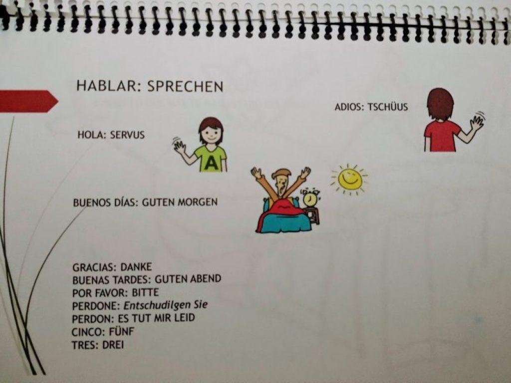 Expresiones en alemán.