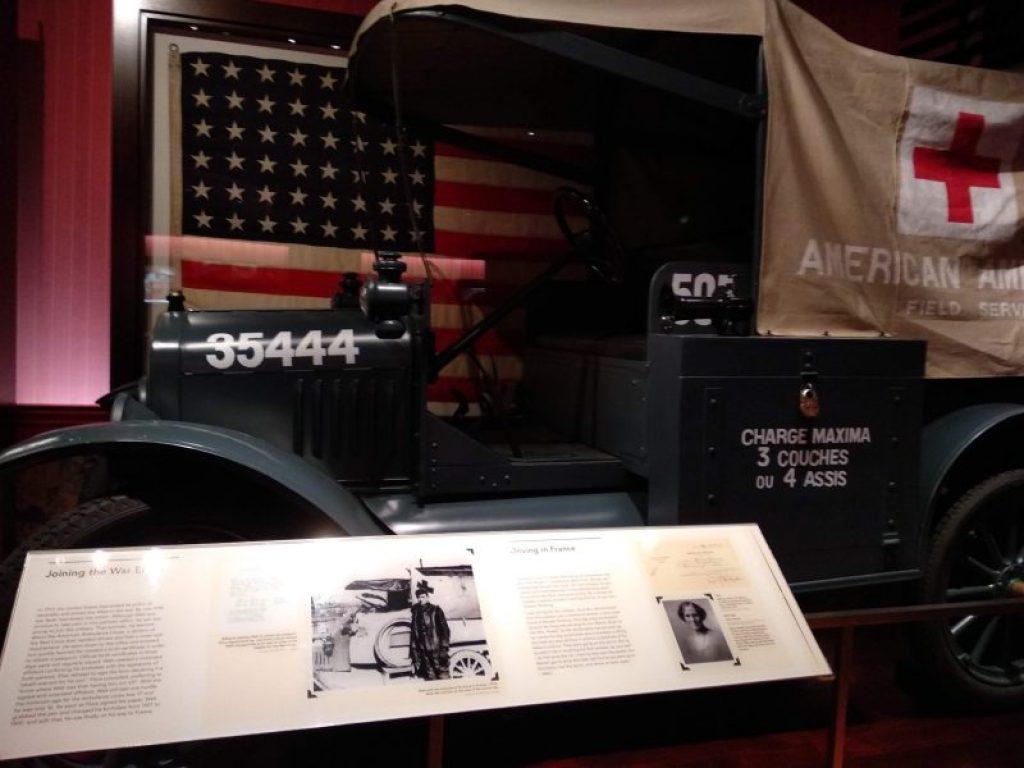 ambulancia primera guerra mundial