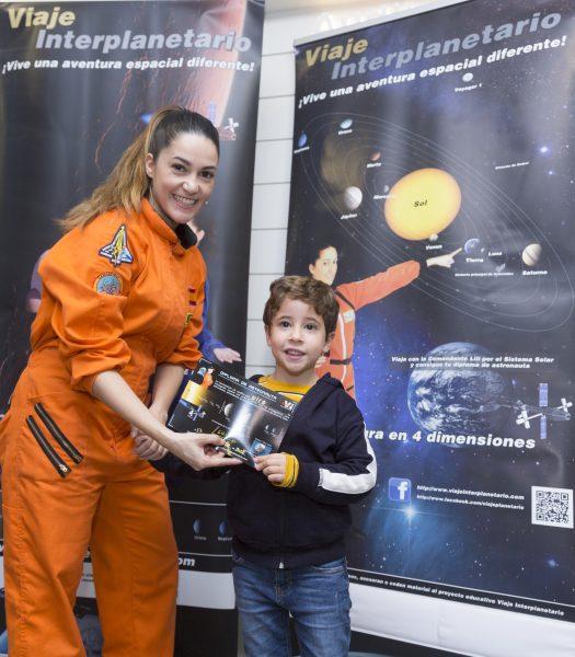 Talleres infantiles semana de la ciencia, Talleres infantiles Semana de la Ciencia, Viajar despeina