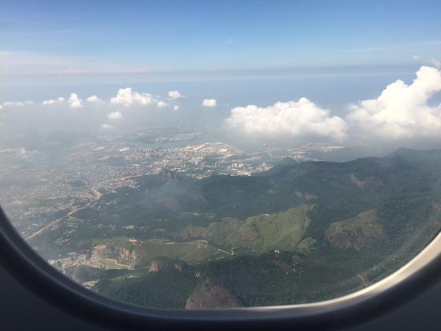 aterrar no Santos Dumont