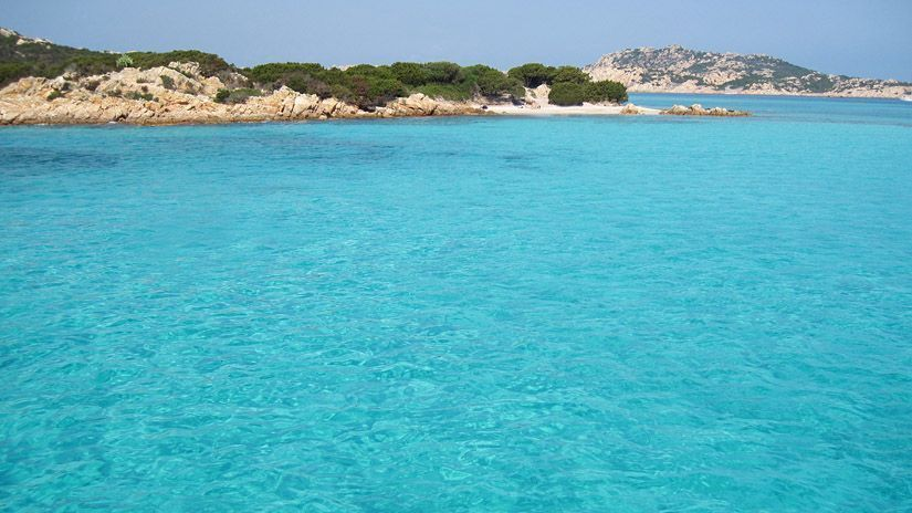 Archipielago de la Maddalena piscinas naturales