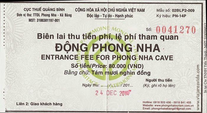 Entrada a Phong Nha Cave
