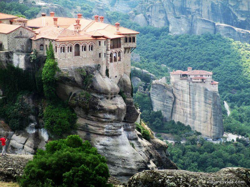 Historia de los monasterios de Meteora