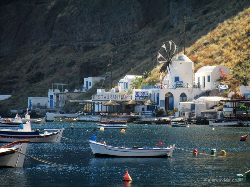 Puerto de Thirasia, Santorini