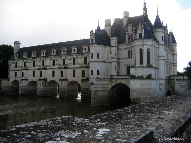 Viajaresvida - Vista de la capilla del Castillo de Chenonceau