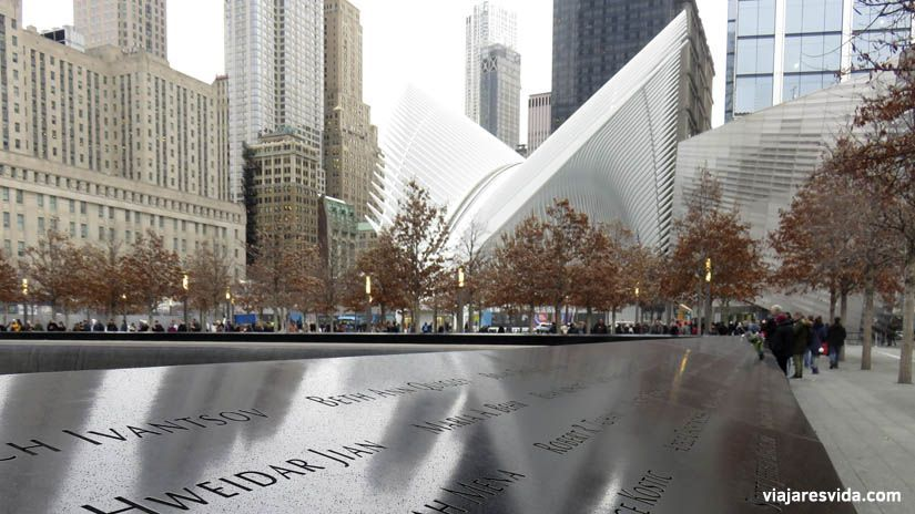 Memorial 911 Nueva York. Qué visitar en Nueva York en una semana