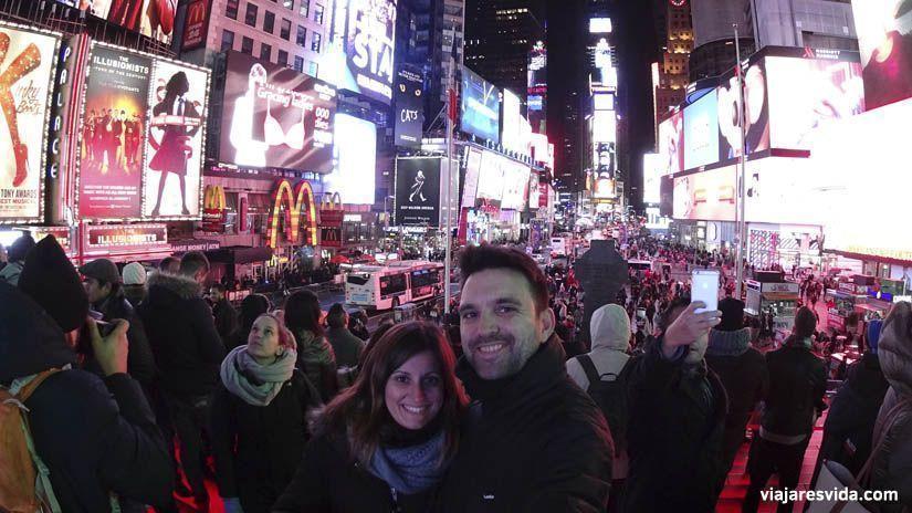 Times Square. Qué ver en Nueva York en una semana