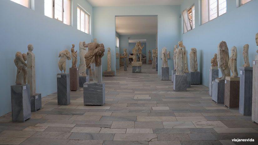 Museo arqueológico de Delos