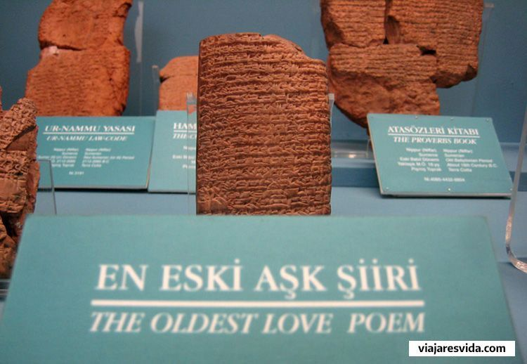 El poema de amor más antiguo del mundo