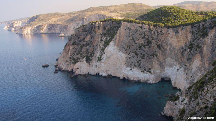 Cabo Keri al sur de Zakynthos